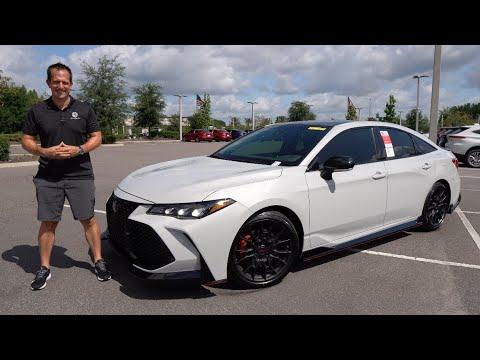 Is the 2021 Toyota Avalon TRD a true sport sedan you should buy?