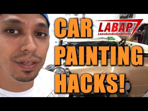 Car Painting HACKS: No Primer Needed Over Clearcoat - Basecoat With Atom X16