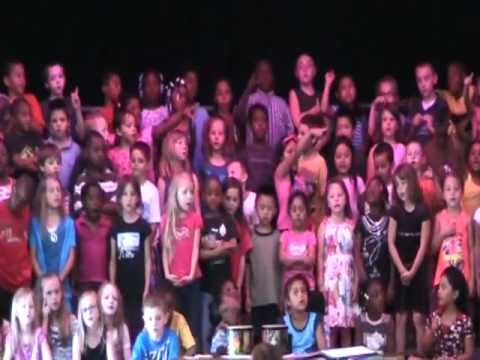 CRESCENTWOOD ELEMENTARY SCHOOL'S SPRING MUSICAL CONCERT 2012.