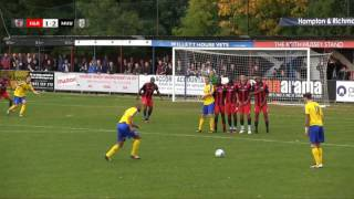 Hampton & Richmond Borough v Maidenhead Utd - 22nd Oct 2016