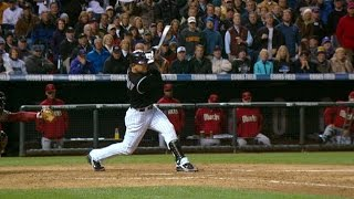 2007NLCS Gm4: Holliday hammers three-run homer in 4th