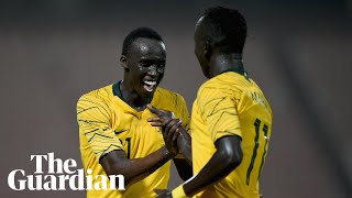'I feel like I'm dreaming': Awer Mabil on scoring on Socceroos debut