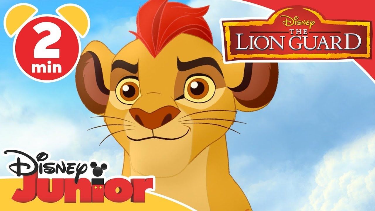 the lion guard dj on safari kion disney junior uk