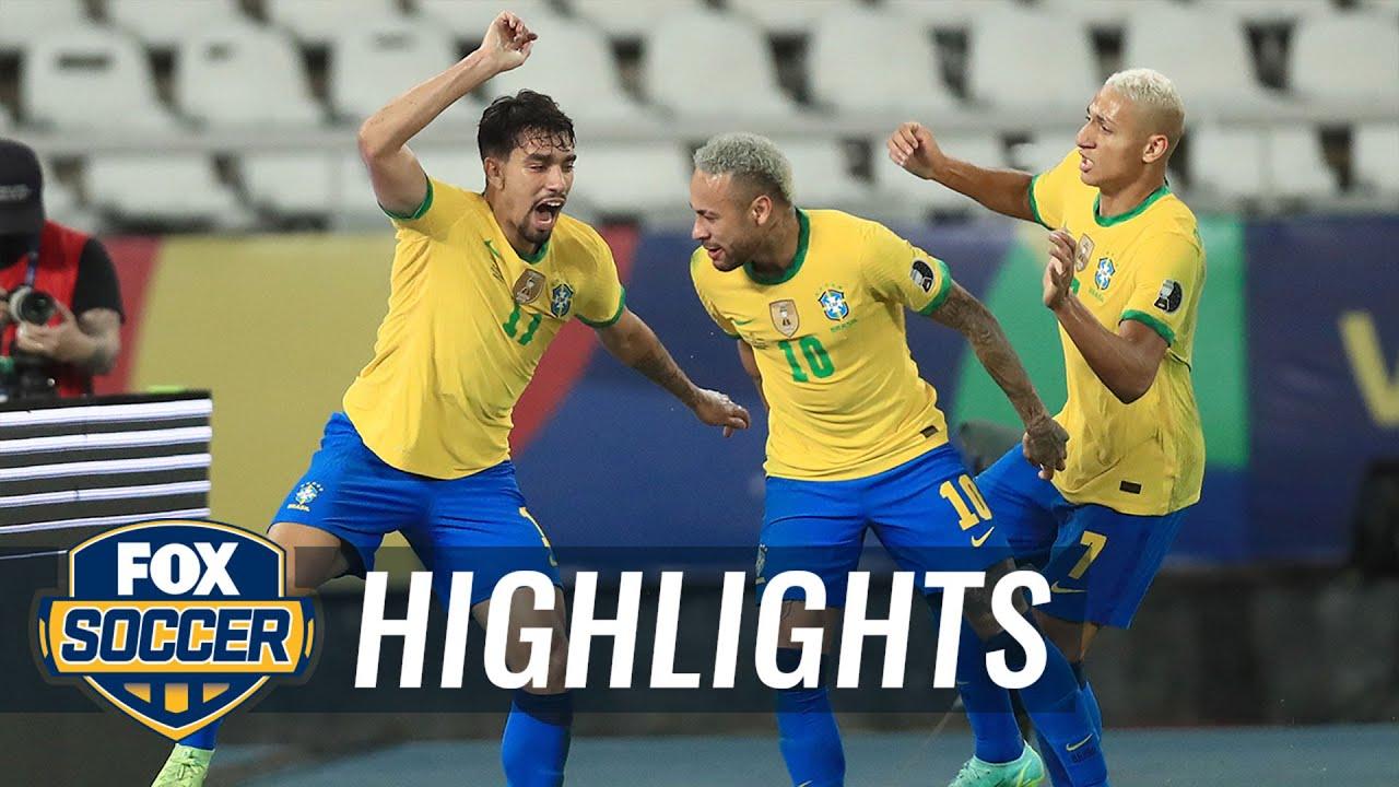 Download Neymar, Brazil advance to Copa América final with 1-0 win over Peru | 2021 Copa America Highlights