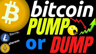 URGENT UPDATE!! BITCOIN LITECOIN and ETHEREUM PUMP OR DUMP??prediction, analysis, news, trading
