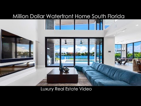 Million Dollar Waterfront Home South Florida