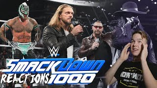 Download Video SMACKDOWN 1000! | WWE SmackDown Live 10/17/2018 Live Reactions MP3 3GP MP4