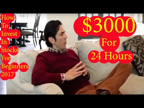 How To Invest In Stocks For Beginners 2017 -  100% FREE Binary Options Trading System