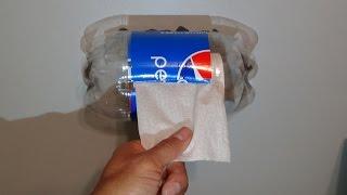 Haz un Dispensador para Papel de Baño