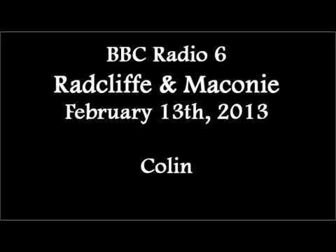 (2013/02/13) BBC Radio 6, Elizabeth Alker, Colin