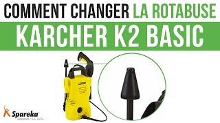 Comment changer la rotabuse de votre Karcher K2 Basic ?