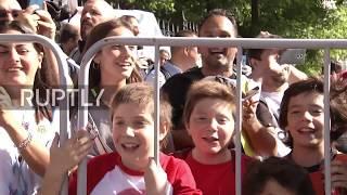 Russia: Fans go wild as Messi arrives in Nizhny Novgorod day b…