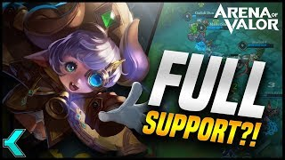 FULL SUPPORT TEAM?! Does It Work? Arena of Valor Gameplay