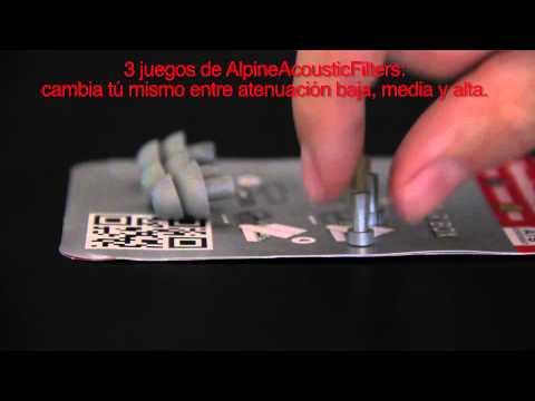 ALPINE MusicSafePro : contenido de la caja