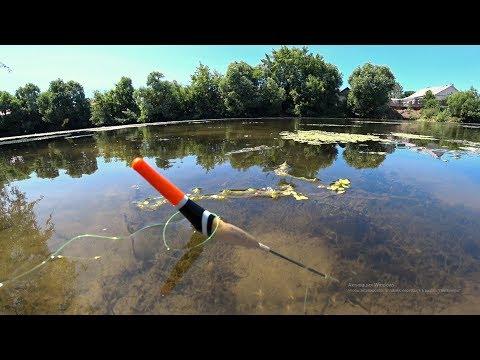 Рыбалка из детства. Ловля карася на поплавочную удочку.