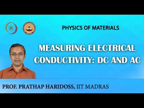 Measuring Electrical Conductivity: DC and AC