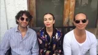 """Sasha, Benny y Erik - Sasha habla sobre """"Japi"""""""
