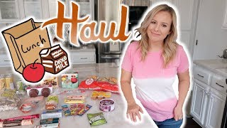 Trader Joe's Haul | Sack Lunch Essentials: July 2018