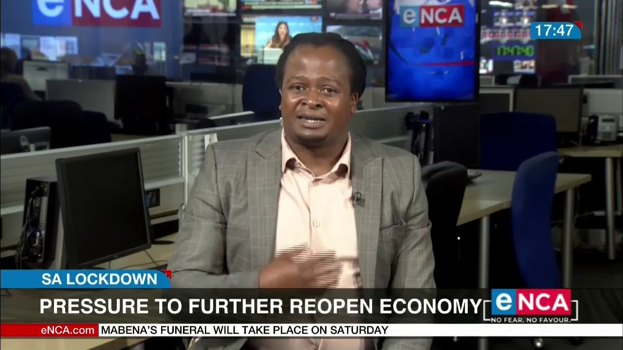 Pressure to further reopen the economy - eNCA