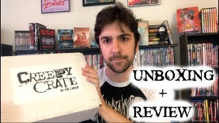 Creepy Crate Unboxing - April - True Crime Book and Horror Merch
