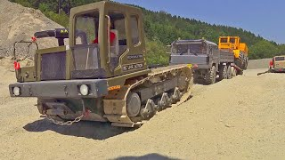 Heavy Truck Crash Rescue / Volvo A45G in Action! Morooka T800 with 80t Winch / Mercedes Zetros 6x6