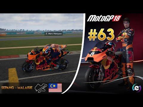 MotoGP 18 Carrière #63 - AVANT DERNIÈRE COURSE !
