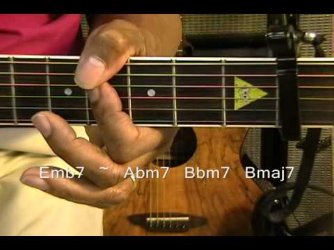Chris Brown Fine China Guitar Lesson /Cover How To Play On Guitar Capo Fret 2