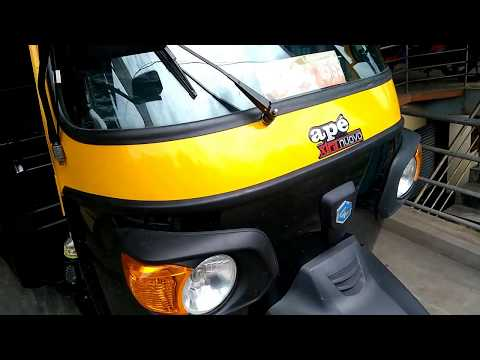 Piaggio Ape Xtra Nuovo Passenger Autorickshaw Mileage 36kmpl Ex