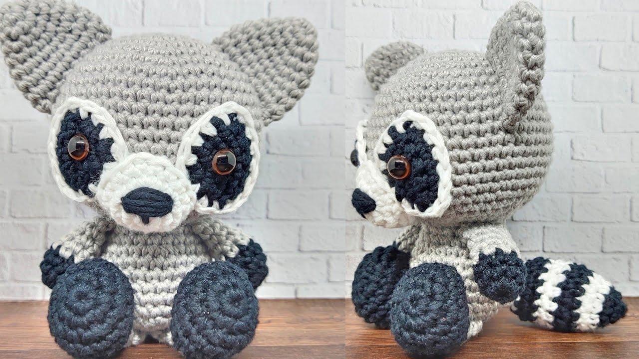 Free Toronto Raccoon Amigurumi Crochet Pattern - Ollie + Holly ... | 720x1280