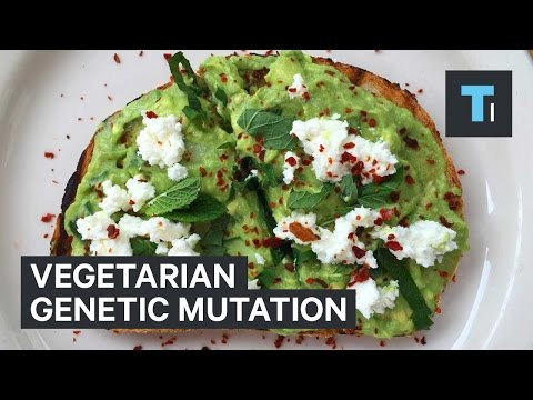 Vegetarian genetic mutation