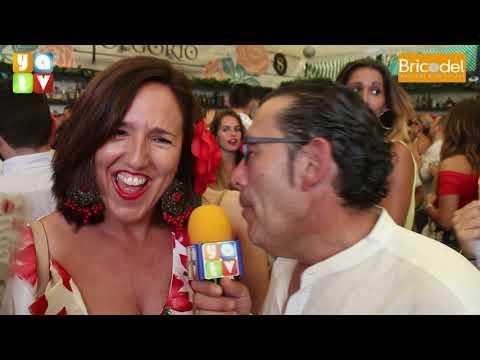 Caseta El Jolgorio Feria Real de Algeciras 2019 Domingo Rociero