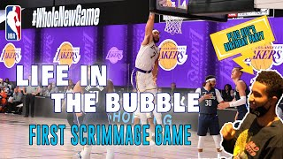 Life in the Bubble - Ep. 9: Kuz's Birthday Party & First Scrimmage Game! | JaVale McGee Vlogs