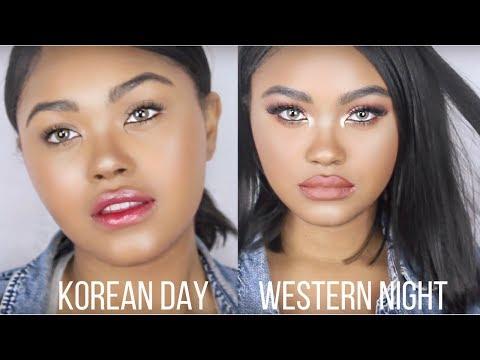 Korean vs Western Makeup: Day to Night   KennieJD