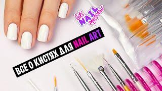 Все о кистях для дизайна ногтей! | Everything about nail art brushes + GIVEAWAY (окончен)