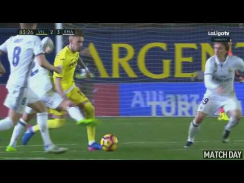 Alvaro Morata Winning Goal - Villarreal vs Real Madrid 2-3 La Liga 26/2/2017 HD