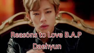 Reasons to Love B.A.P Daehyun