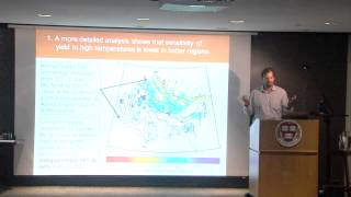 Harvard Food+ Research Symposium: Peter Huybers