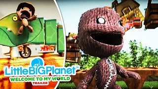 """LittleBigPlanet - """"WELCOME TO MY WORLD"""" Game Trailer"""