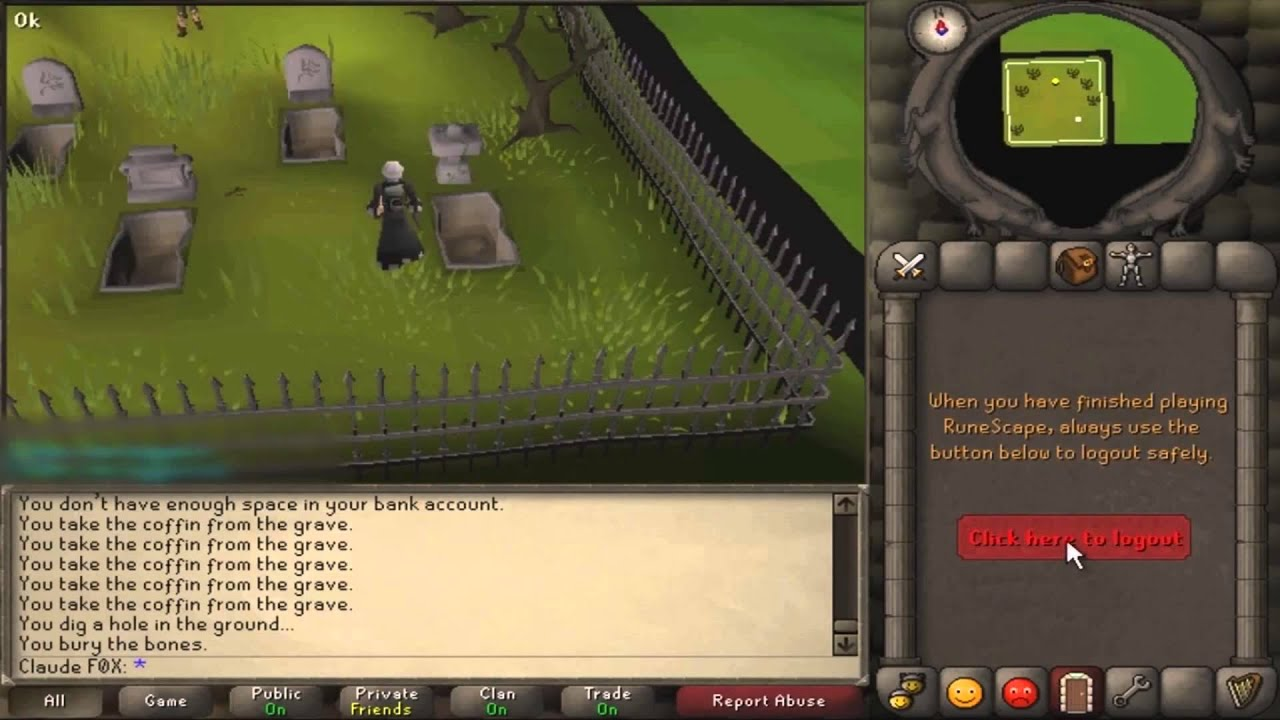 Rs07 Log In Force Teleport Runescape Glitch Tutorial Youtube