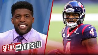 Watson doesn't want to waste best years; Texans should trade him — Acho | NFL | SPEAK FOR YOURSELF