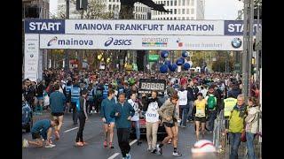 Der Mainova Frankfurt Marathon im Schnelldurchlauf