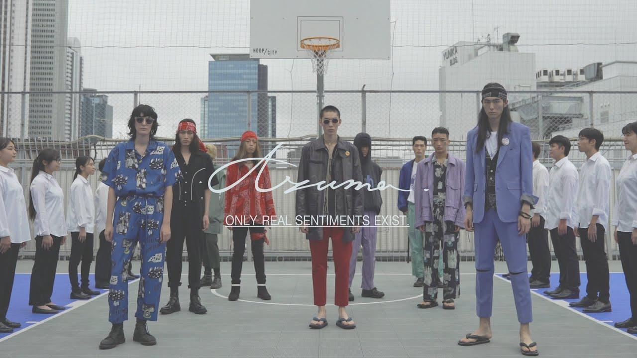 Fashion show インスタレーションAzuma.