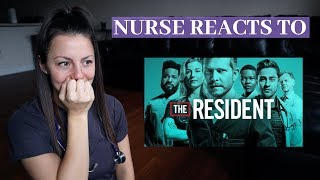 Nurse Watches The Resident | Medical Drama TV Show Reaction!!