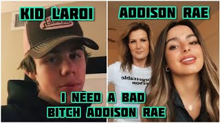I Neeed a Bad Bih Addison Rae, Shawty a Baddest The Kid Laroi Addison Rae Song Snippet