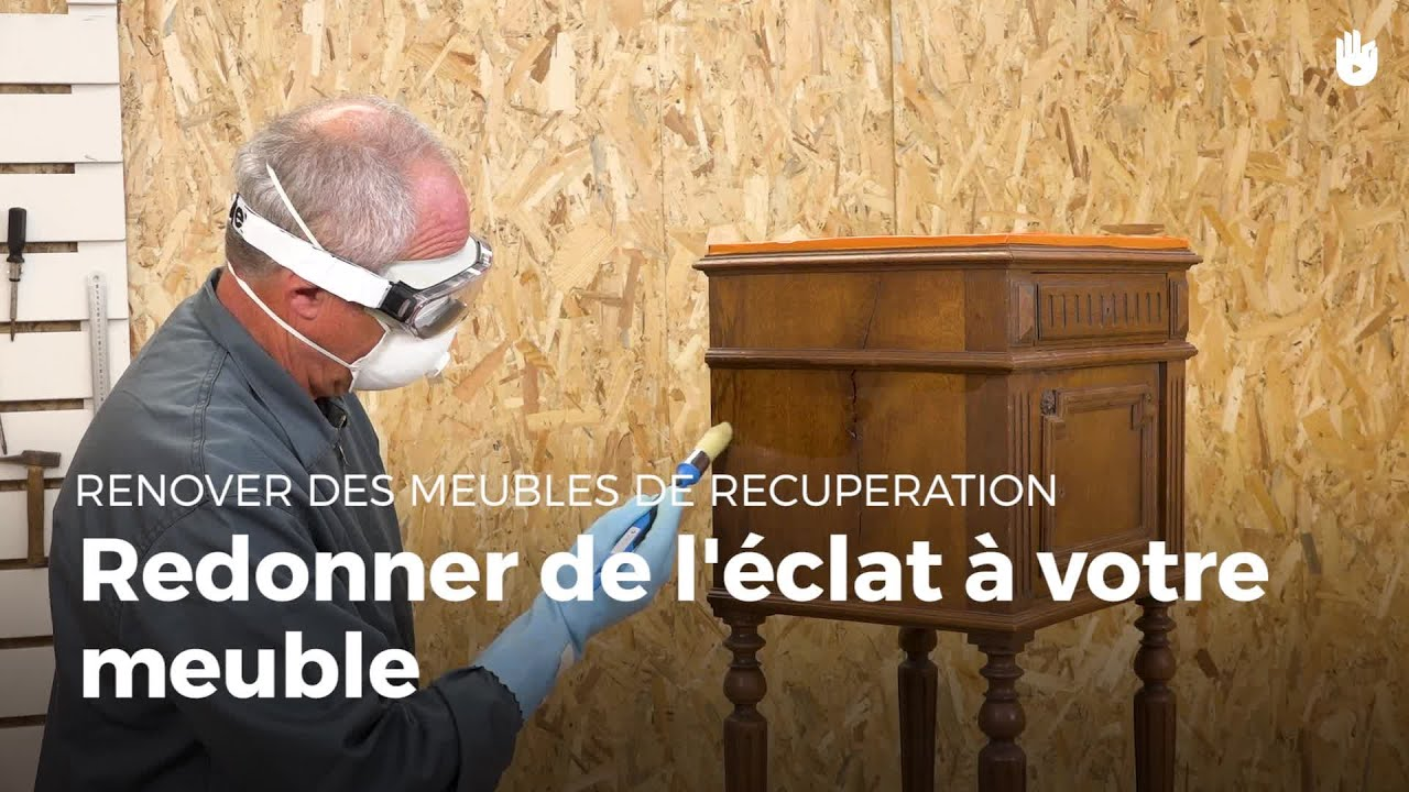 faire briller un meuble en bois renovation de meubles