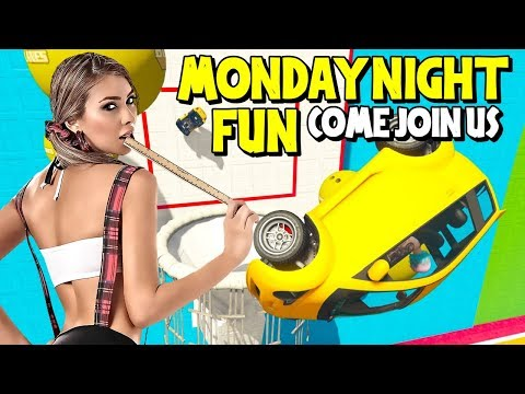 LIVE - MONDAY NIGHT FUN - COME JOIN US  ((...