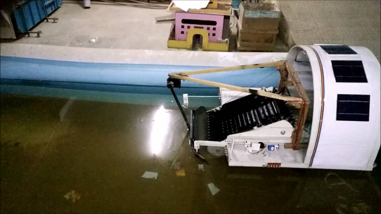 Floating River Cleaning Machine Youtube