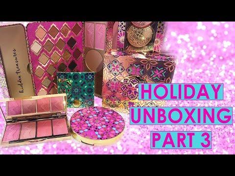 holiday unboxing part 3 w/ Deanna & Jen | tarte talk