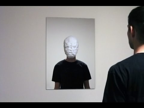 Facial Recognition Technology Countered With A Mask