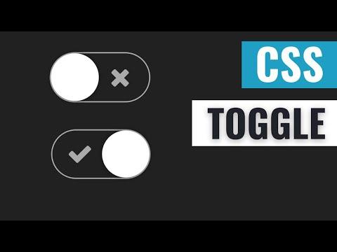 [ HTML | CSS ]  Toogle Element